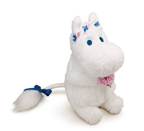 Genuine Moomin Stuffed Official Sekiguchi Plush Doll 22cm