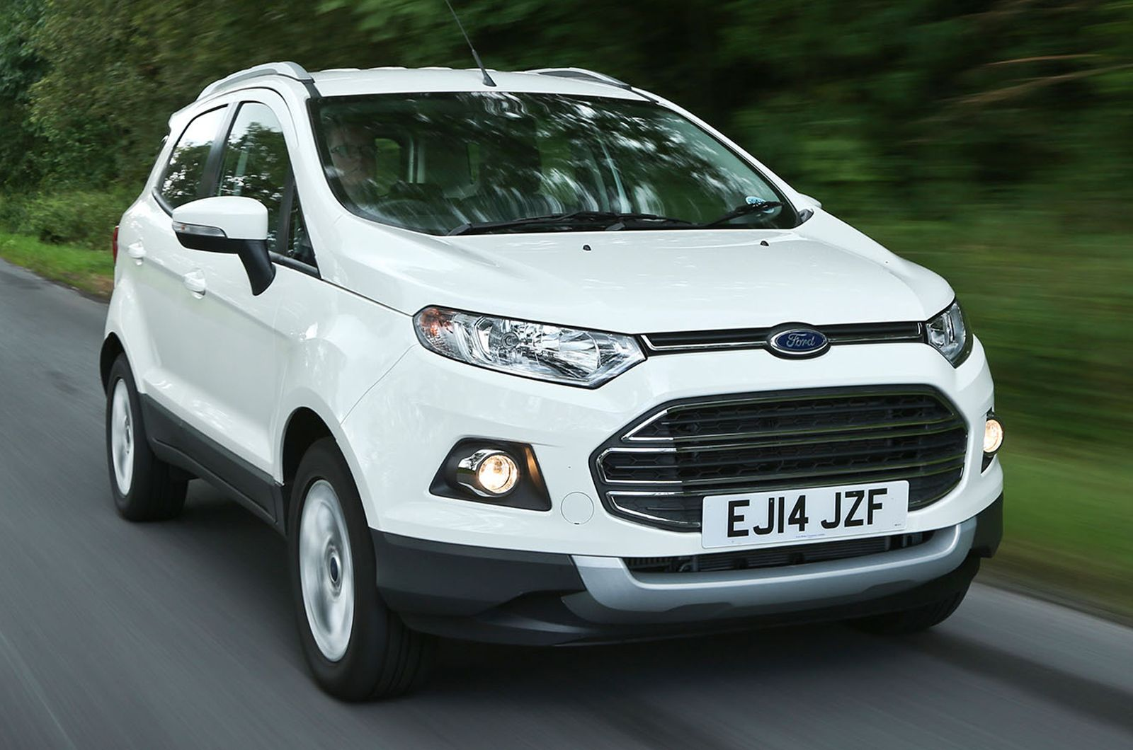 White Ford Ecosport Hd Wallpapers Ford Ecosport Ford Automobile Companies