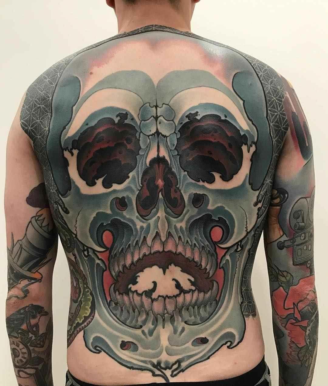 Tattoo Artist Maxim Titanic Kislitsyn Neo Japanese Tattoo Exclusive Interview Inkppl Tattoo Magazine Moscow Russia