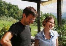 Francesca e il marito Paolo