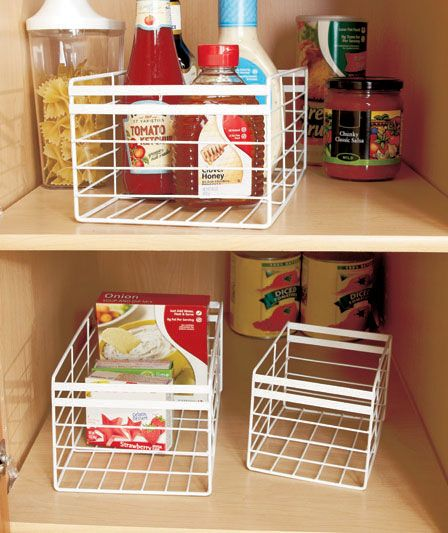Cabinet Organizers or Baskets | ABC Distributing #cabinetorganizers