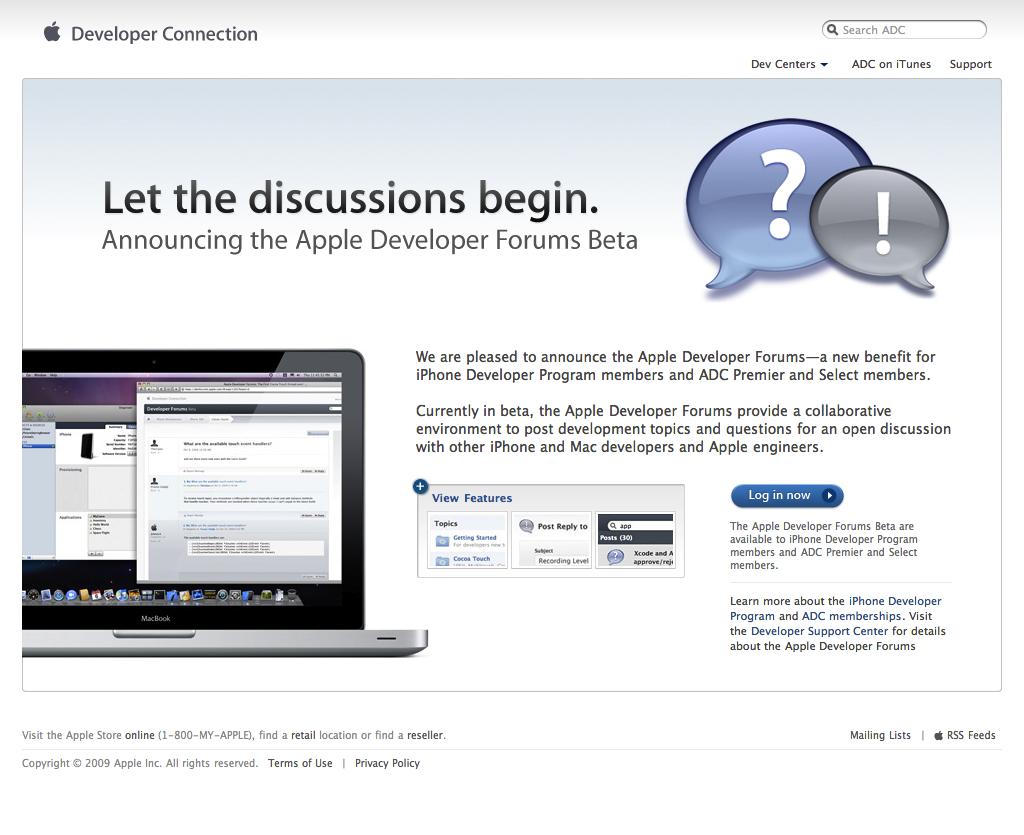 Apple Developer Forums