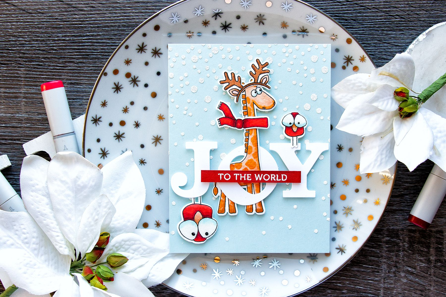 Simon Says Stamp Stacked Christmas Animals Dress Up Your Critters