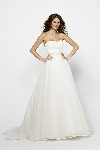 Watters brides ingrid gown fabulous in every way for How much are watters wedding dresses
