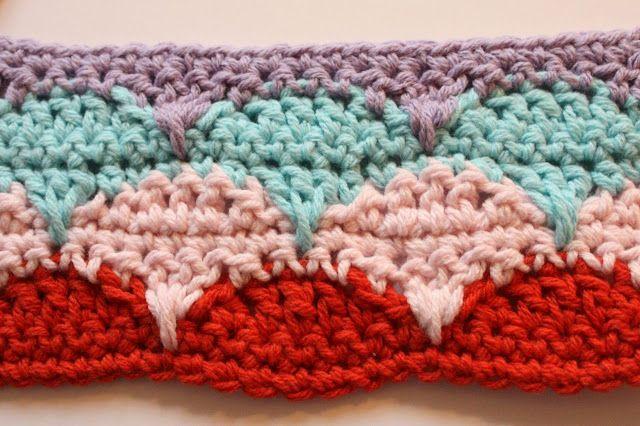 Cherry Heart Clamshell Tutorial Crochet Pinterest Tutorials