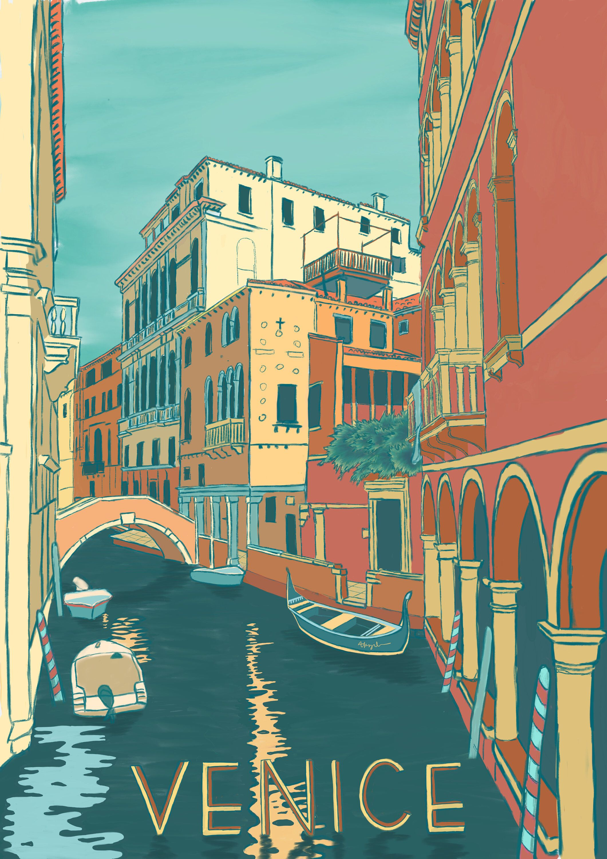 Photo of Venice, Italy Poster