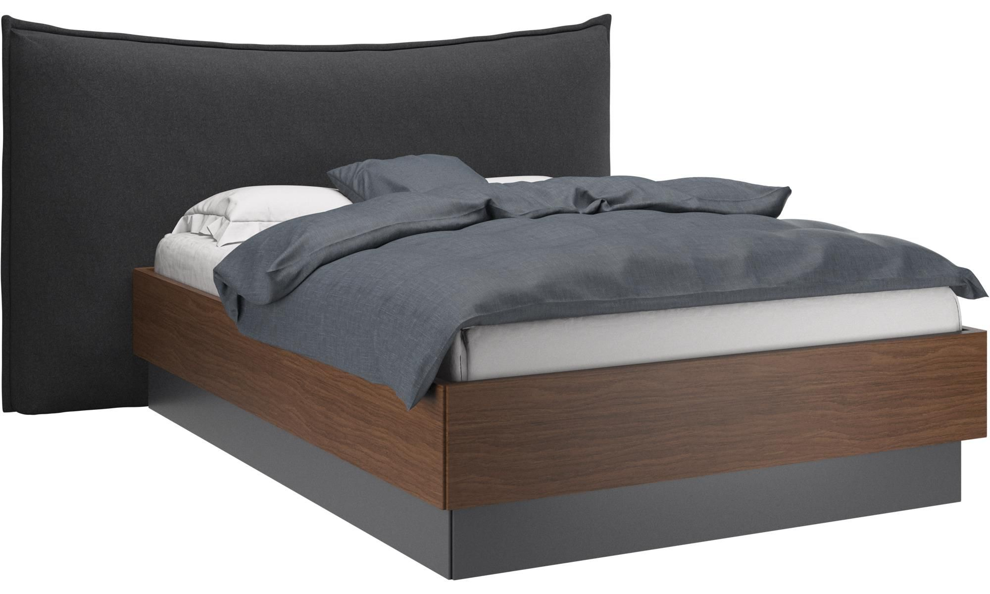 Gent Storage Bed With Lift Up Frame And Slats - Boconcept