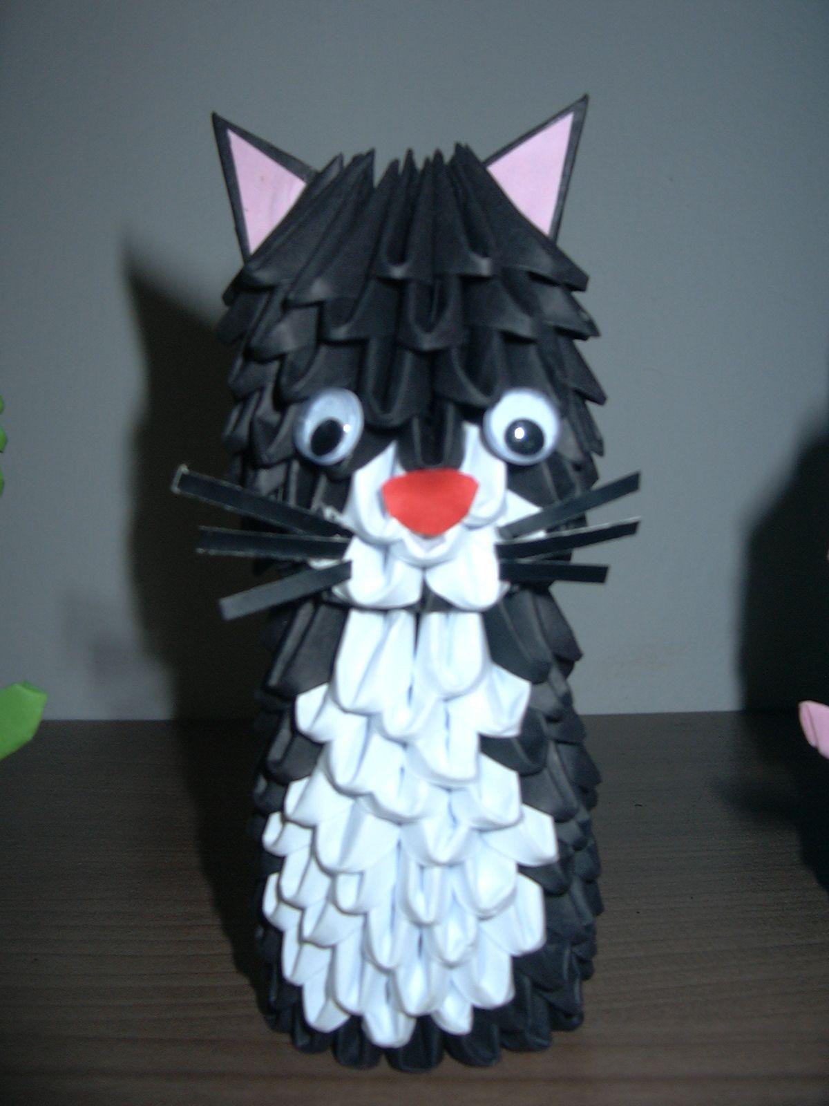 3D ORIGAMI WILSUJ: Model 3d origami - ANIMALS | Crafts ... - photo#48