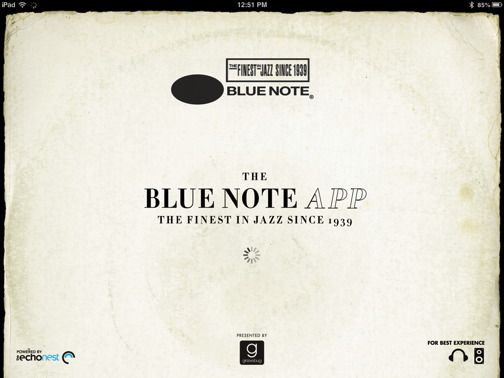 Blue Note- Free Jazz app for Apple products  | Apple- iTunes