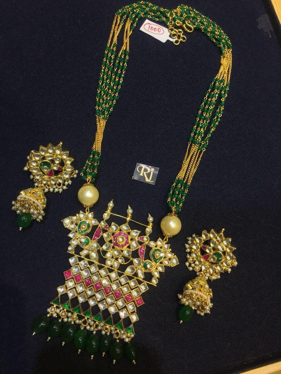 Kundan and moti jadau set pinterest indian jewelry pakistani