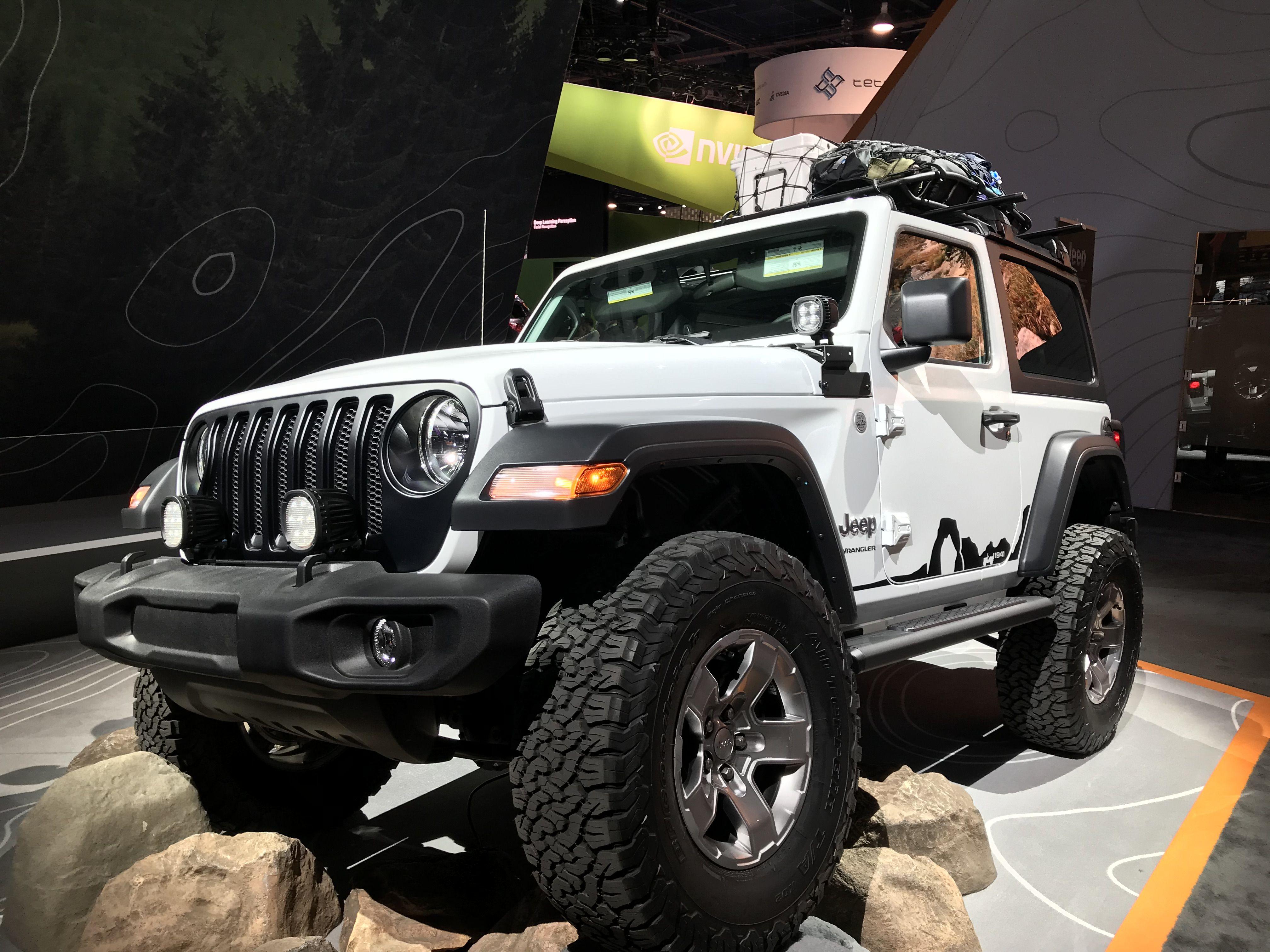 Jeep Wrangler 2 Puertas 2019