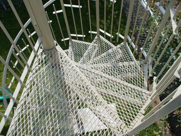 Best Outdoor Metal Industrial Circular Stair Design Stair 400 x 300