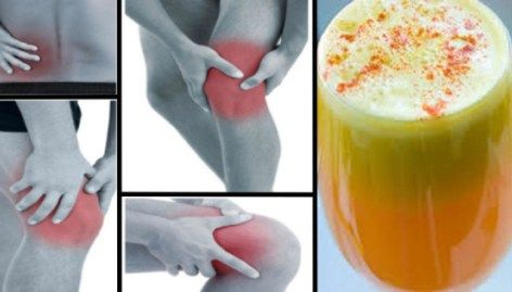 Say Goodbye To Pain In your Joints, Legs, And Lower Back With This Proven Anti-Inflammatory Juice Recipe!