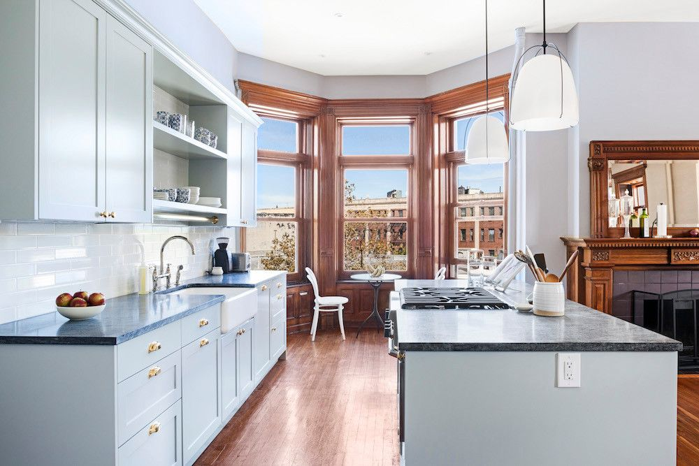 An Overwhelming Brooklyn Kitchen Gets A Refined Makeover  Open Adorable Brooklyn Kitchen Design Inspiration