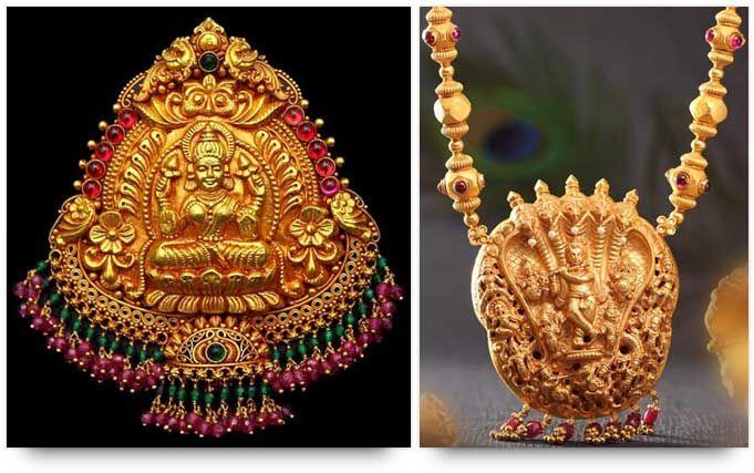 Temple jewelry goddess lakshmi pendant and lord krishna necklace temple jewelry goddess lakshmi pendant and lord krishna necklace mozeypictures Choice Image