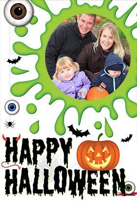 Goulish Gang Halloween Card Greetings Island Halloween Cards Cards Halloween