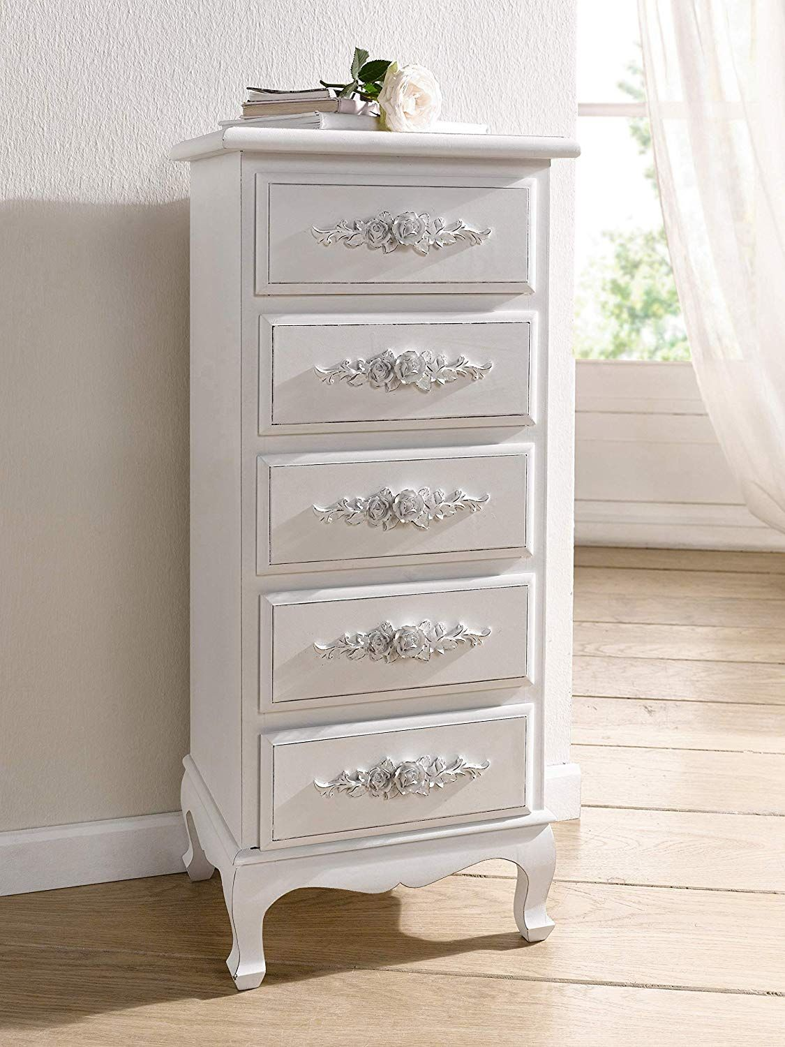 Chest of drawers white dressers for bedroom girls antique