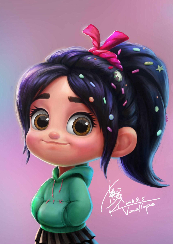 Персонажей девочек мультфильмов рисунки из для
