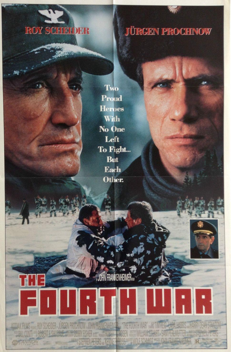 The Fourth War War Film Movie Posters War