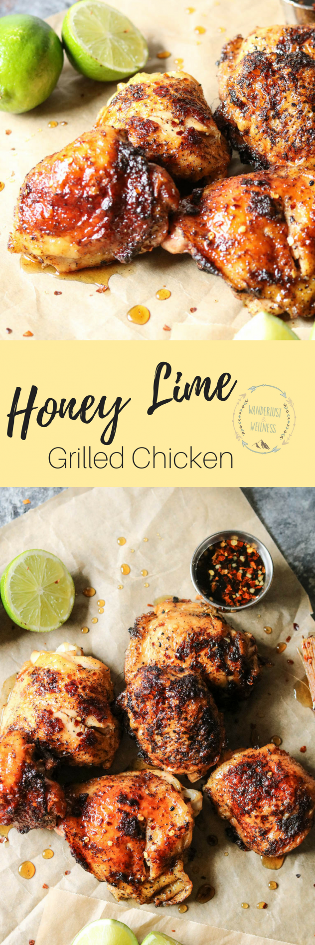 Honey Lime Chicken • Wanderlust and Wellness #honeylimechicken