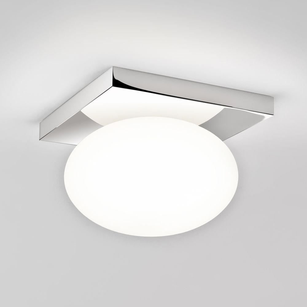 Astro Lights Castiro 225 Ip44 Opal Glass Bathroom Ceiling Light