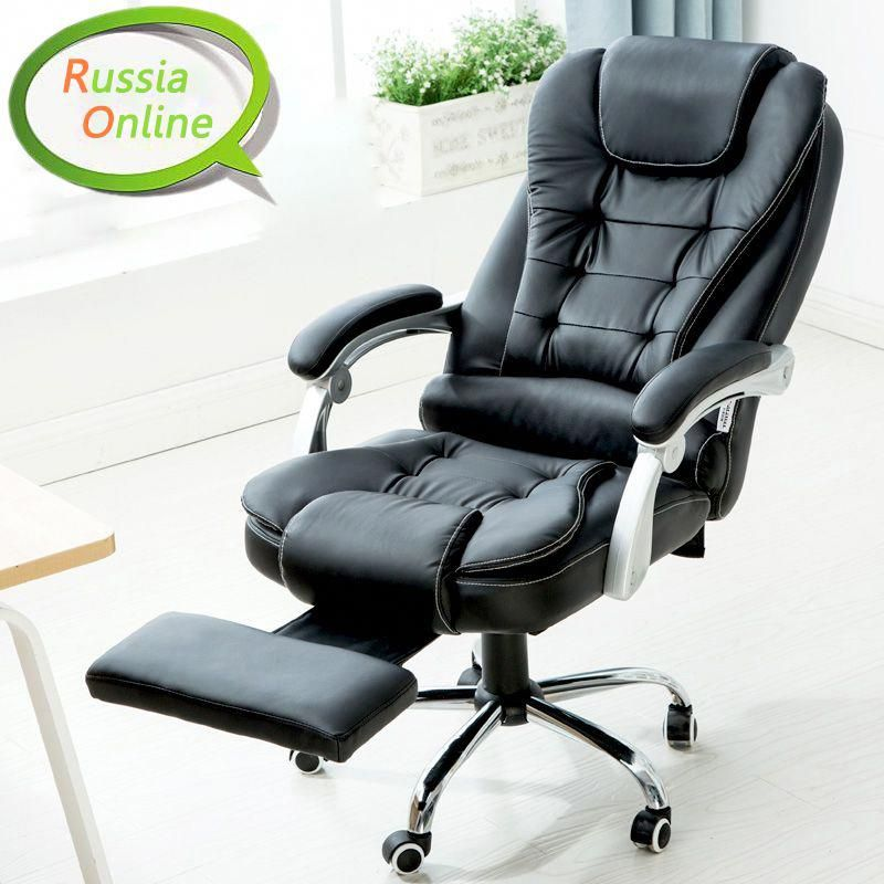 Kalway Reclining Leather Computer Chair Home Office Chair Fashion Leather Chair Massage Chair Bos Office Chair Design Affordable Leather Chair Game Room Chairs