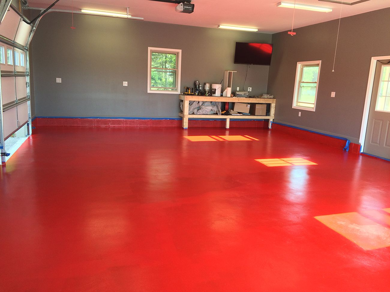 Polyurea Garage Floor Coating Kits All Weather Floors Garage Floor Tiles Garage Flooring Options Garage Floor