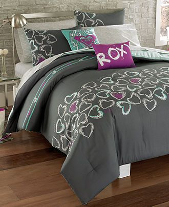 Roxy Bedding Heart And Soul Comforter Sets Teen Bedding