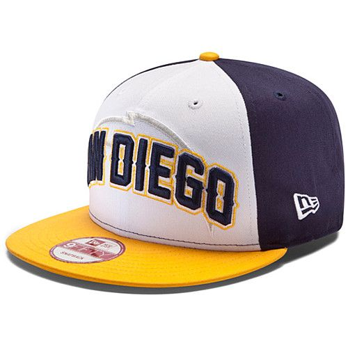 New Era San Diego Chargers Draft 9FIFTY® Structured Snapback Adjustable Hat  Item no  12369097 Price   29.99 dd06b81d43d