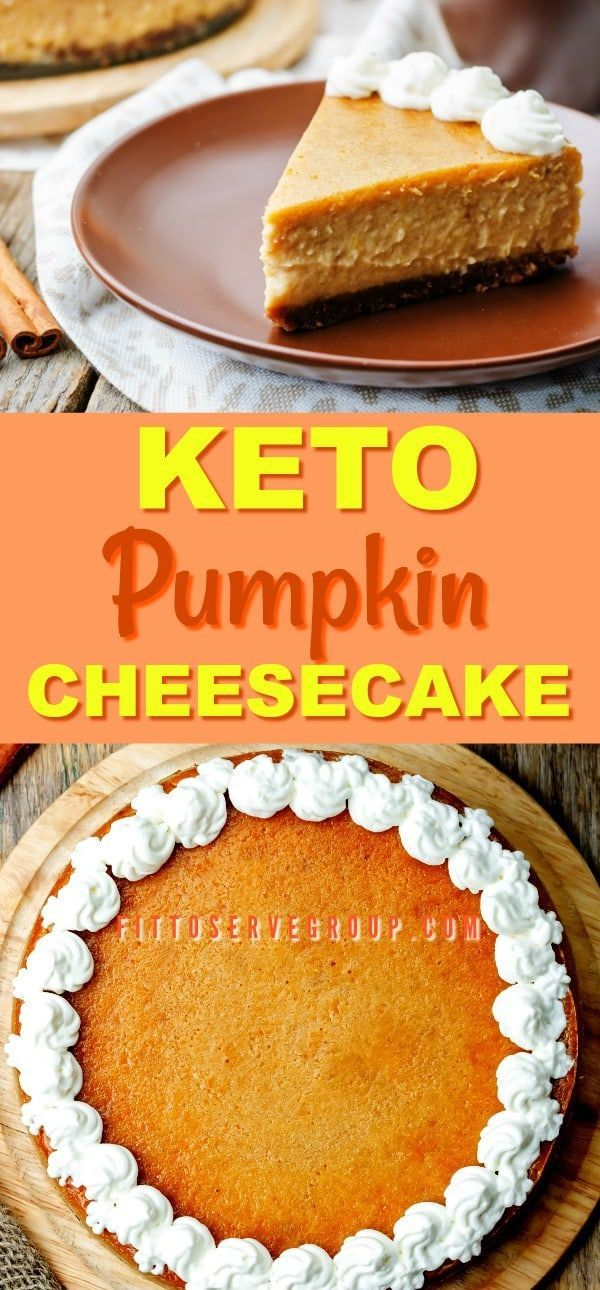 Keto Pumpkin Cheesecake Pie, To Help You Celebrate Autumn