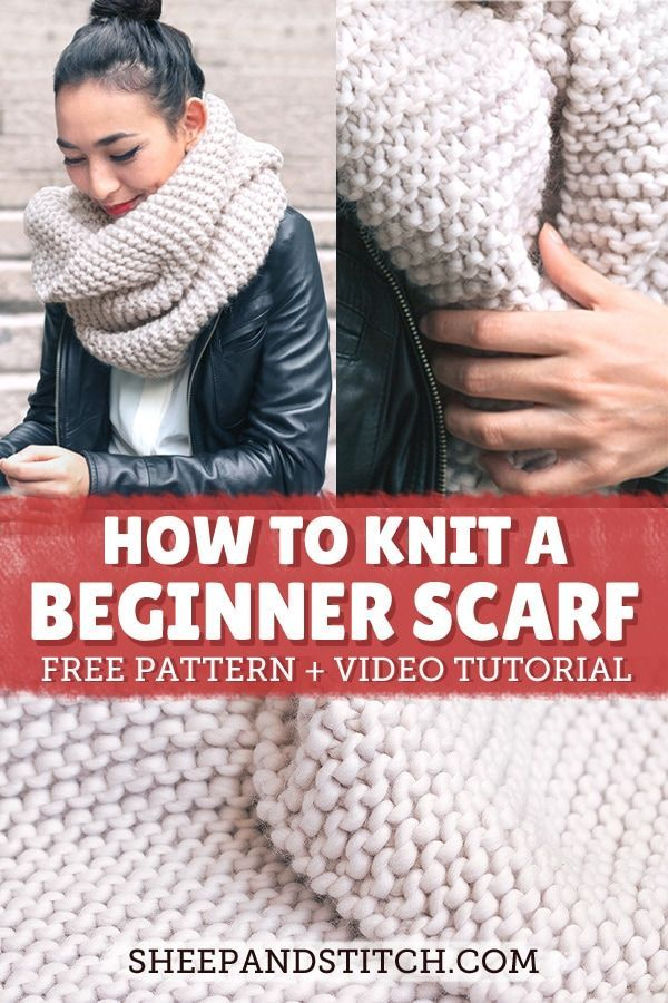How to Knit a Scarf for Total Beginners - Sheep and Stitch