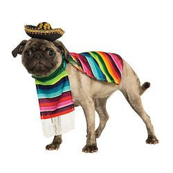 Rubies Mexican Sarape Pet Costume