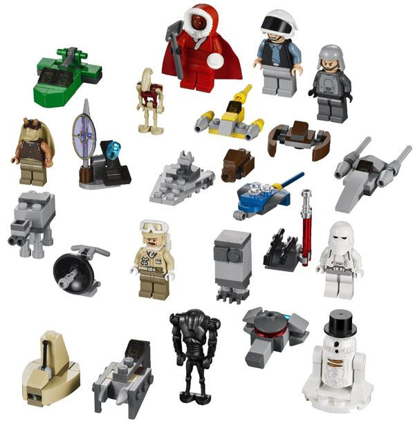 Genuine Lego SANTA CLONE TROOPER Minifigure Star Wars Advent Calendar