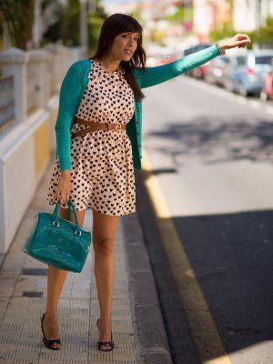 mymoleskinebynailee Outfit urbano Lady chic Primark FURLA corazones pvc  Verano 2013. Combinar Vestido Rosa suave/Rosa palo Primark, Vestido Rosa  suave/Rosa