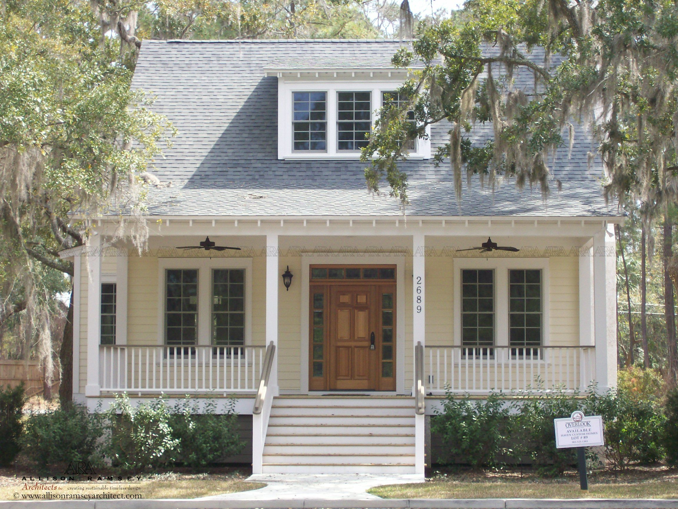 The sumter plan by allison ramsey architects built at for Beaufort sc architects