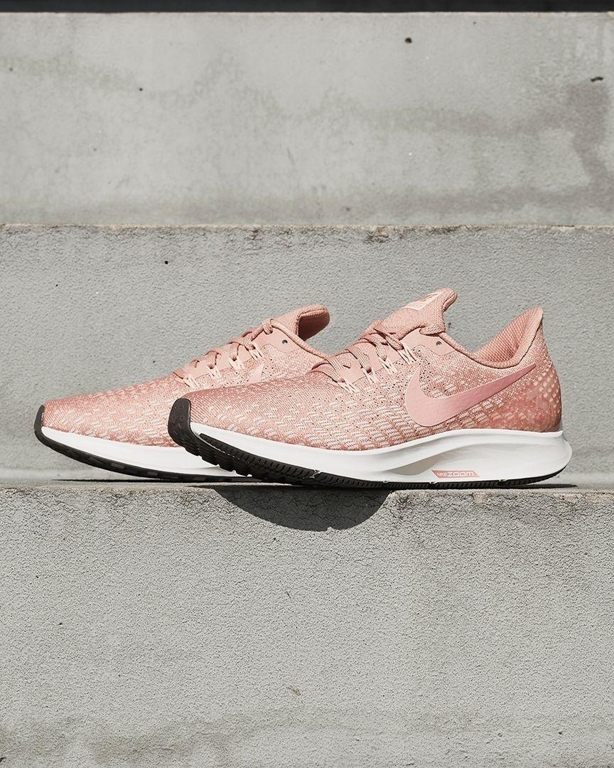 Nike Air Zoom Pegasus 35 Women S Pink White Nike Shoes Black Nike Shoes Nike Air Zoom Pegasus