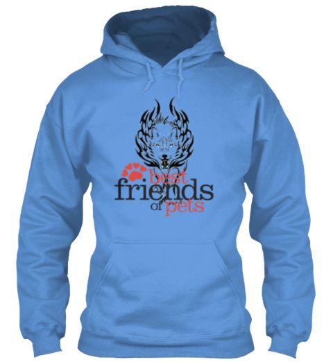 Best Friends Of Pets Tees And Hoodies Carolina Blue Sweatshirt Front