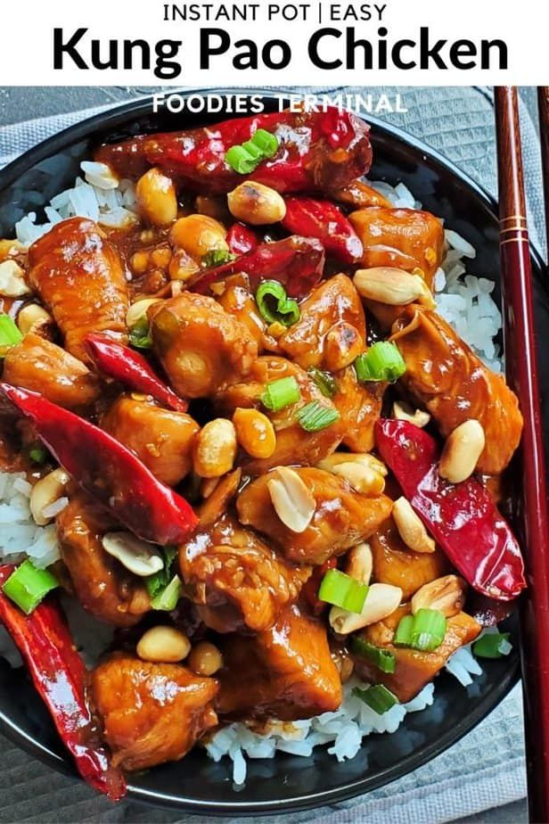 Instant Pot Kung Pao Chicken | Foodies Terminal » Foodies Terminal