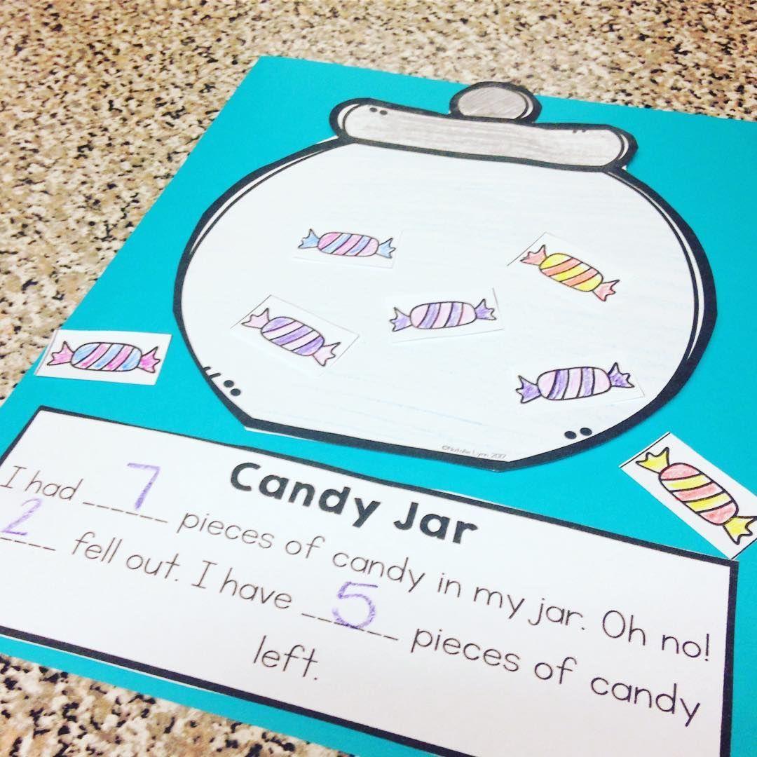 Candy Jar Subtraction Craft | For Educators | Pinterest | Math ...