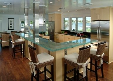 Kitchen Islands With Seating Wrap Around Island