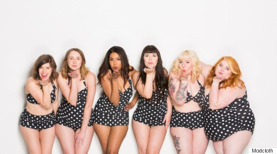 Modcloth Goes One Step Further And Puts Its Employees In Swimsuit Photo Shoot