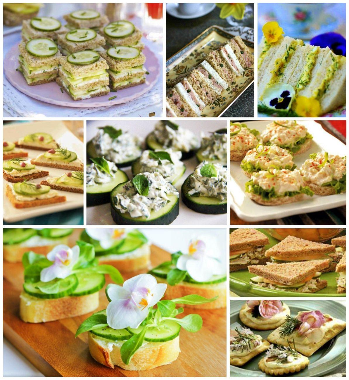 High tea menus and recipes - A Series Of Tea Rrific Tea Party Ideas Tea Party Food Recipes