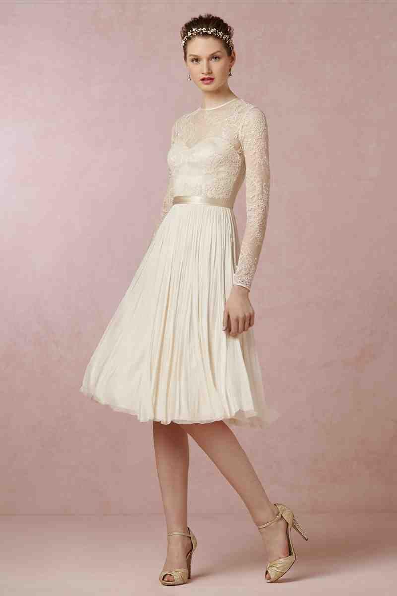 Funky Short wedding dresses