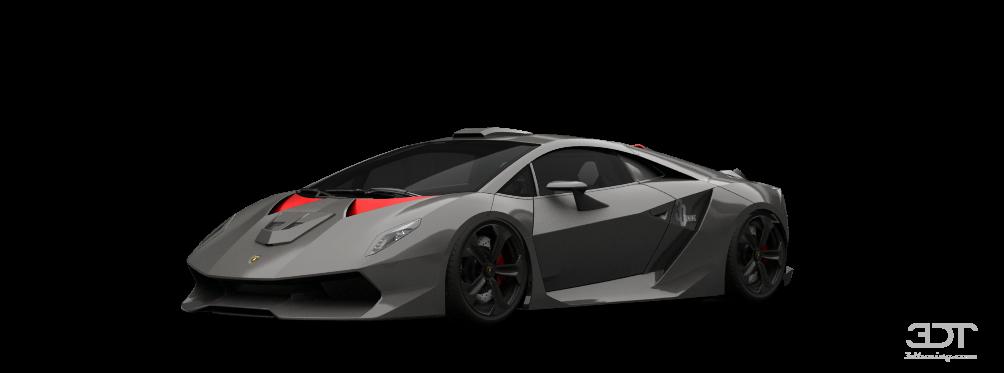 Tuning Of Tuning Lamborghini Sesto Elemento Coupe 2011 3dtuning