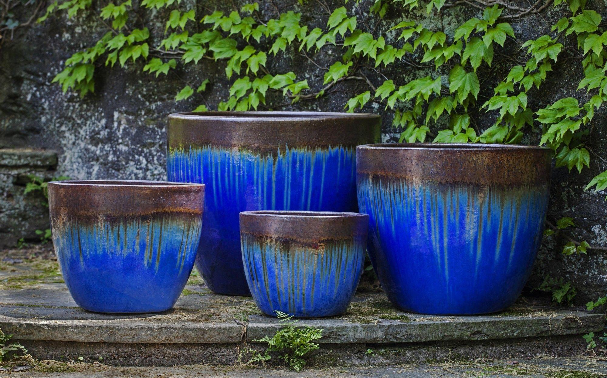 Marcel 4 Piece Pot Planter Set Planters Flower Pots Outdoor Planter Pots