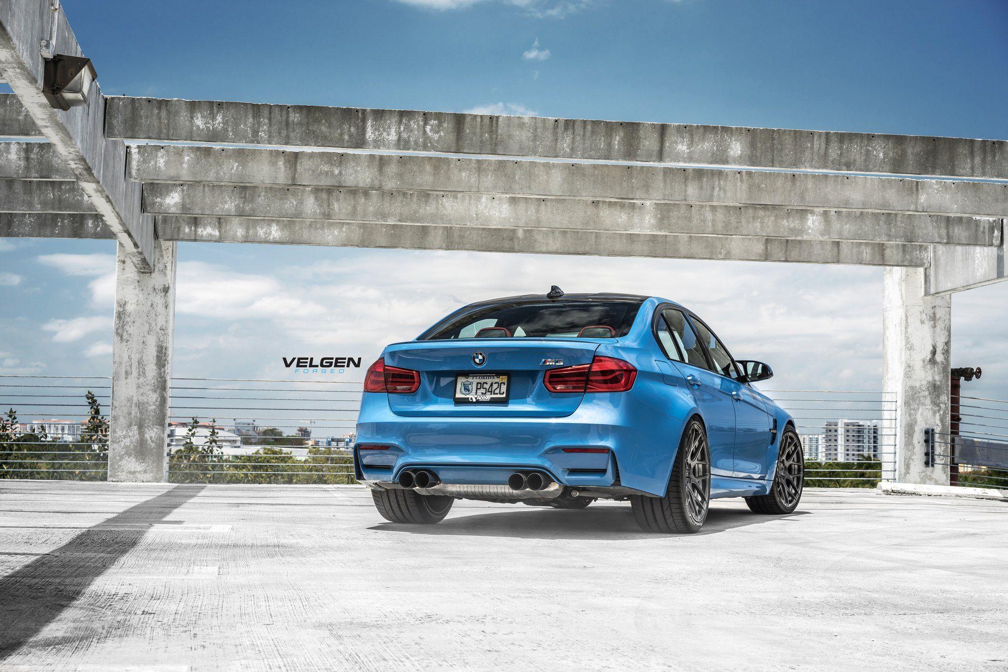 Unparalleled Style And Performance Bmw M3 Sedan On Velgen