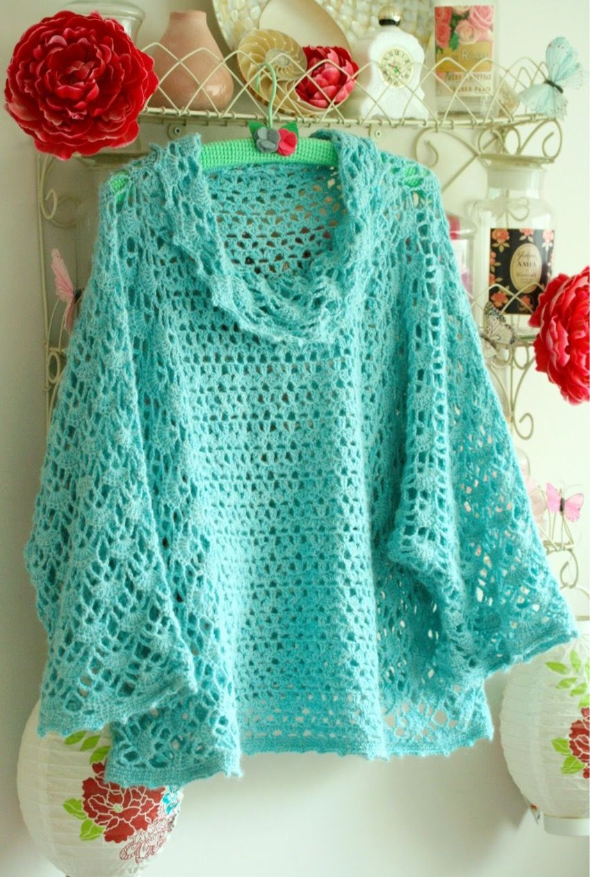 Crochet Poncho Free Pattern Best Ideas | Häkeln