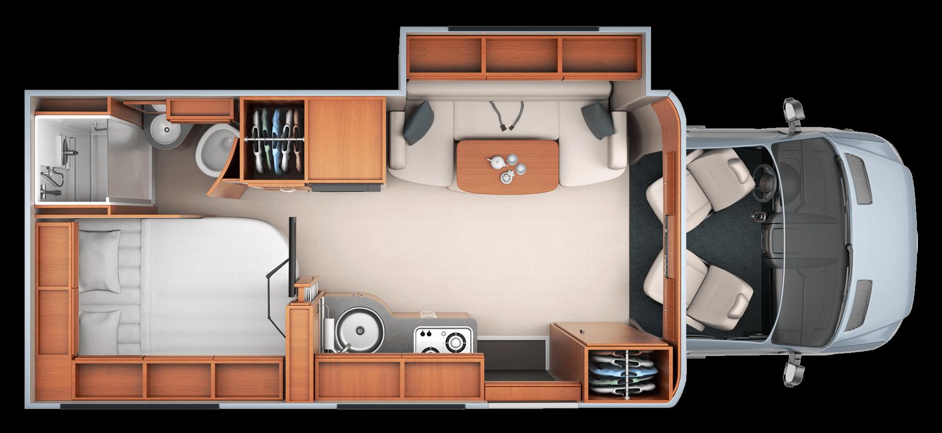 Unity - Floorplans   Unity, Leisure travel vans and Mercedes sprinter