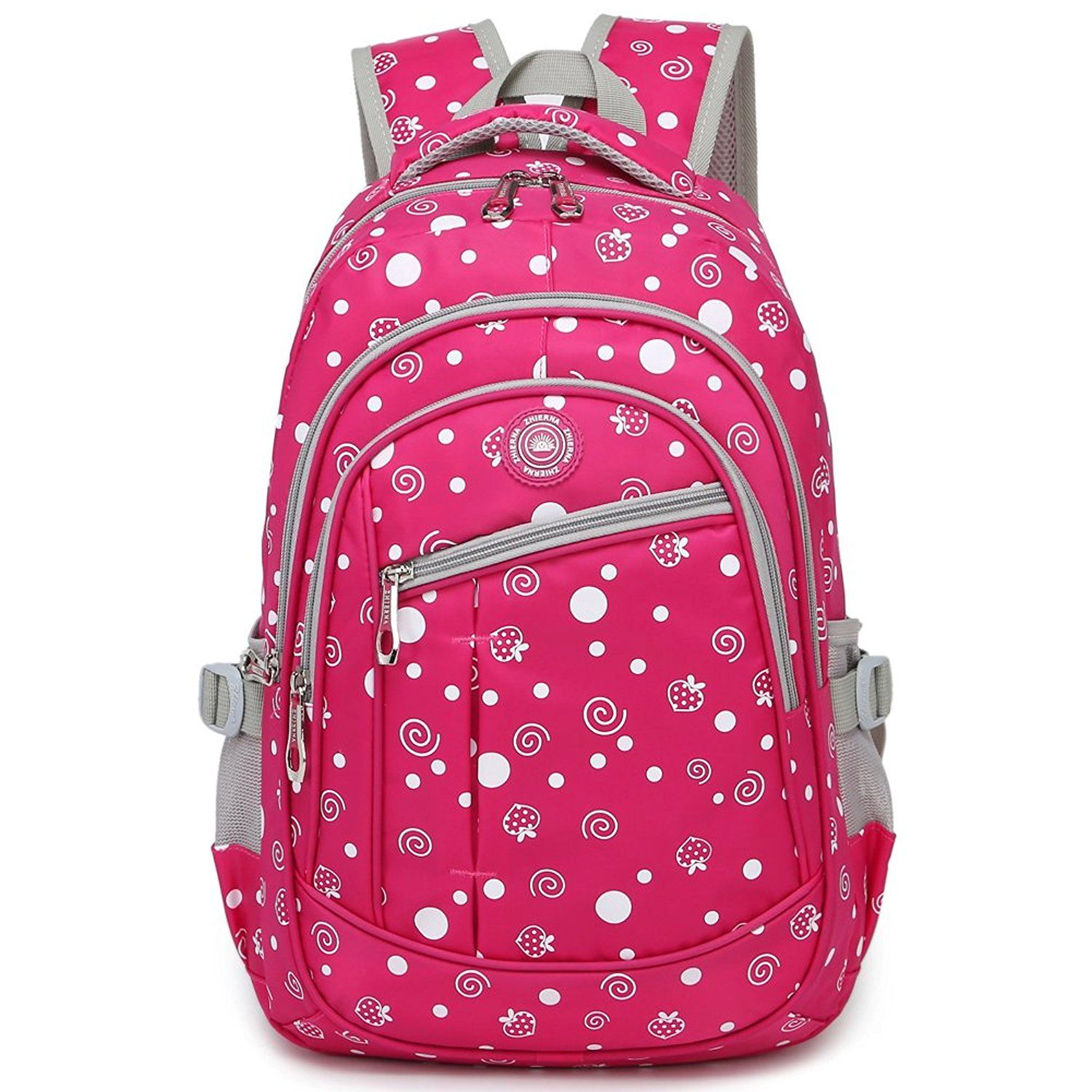 fresh style candy color backpack for elementary or middle school