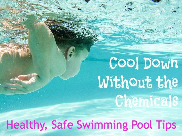 Did you know disinfection byproducts are more toxic than chlorine?  DIY ways to Cool Down without the Chemicals: Healthy, Safe Swimming Tips